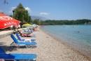 Karda Beach, Korfu, Griechenland